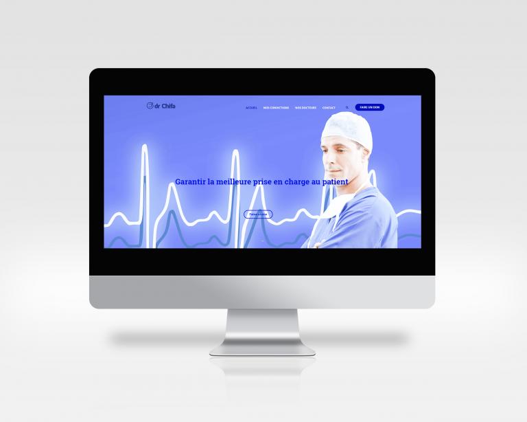 Création du site web de l'association Docteurchifa.org