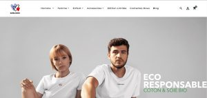 Création de la boutique en ligne de la marque Amelines