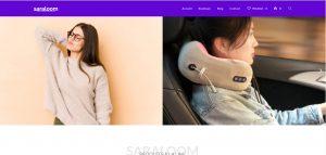 Création de la boutique en ligne Saraloom